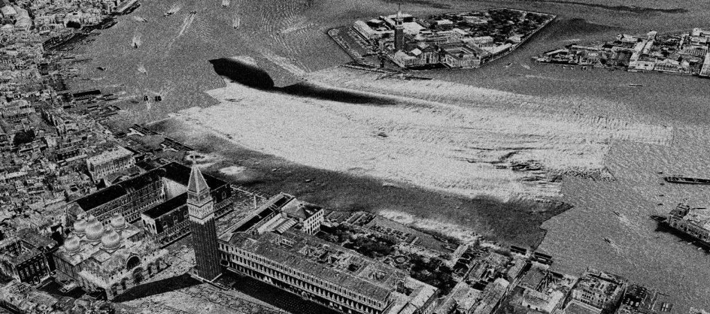 Ecoscandaglio di Venezia, alla ricerca della terza colonna di San Marco. Da Digital Shadows, di Fantina Madricardo.